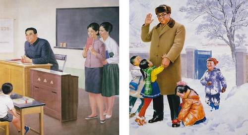 2-Kim-Il-Sung-Visits-A-School